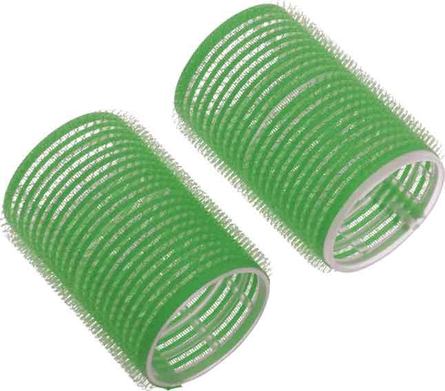 Бигуди-липучки зеленые DEWAL BEAUTY