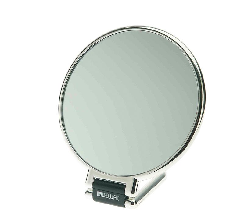 Зеркало настольное серебристое DEWAL