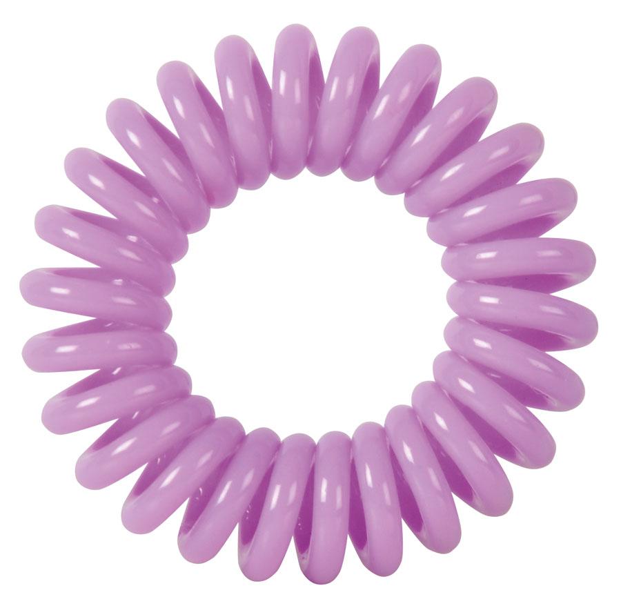 Резинки для волос Пружинка цвет фиолетовый DEWAL BEAUTY
