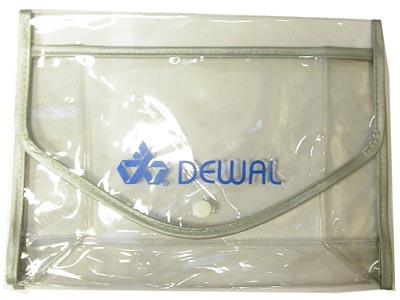 Косметичка прозрачная DEWAL