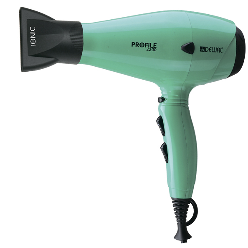 Купить Фен PROFILE-2200 DEWAL, 03-120 Aqua, Голубой