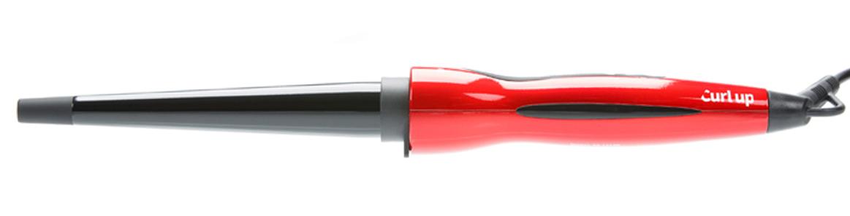 Купить Плойка для волос Сurl Up конусная DEWAL, 03-1325R, Красный