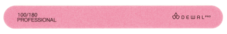 Купить Пилка для искусственных ногтей NEON 100/180 DEWAL, 9101509