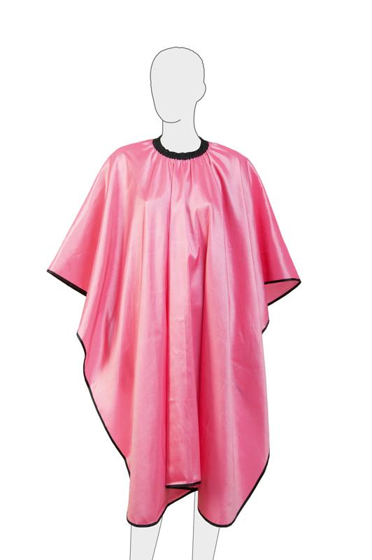 Купить Пеньюар для стрижки Глянец DEWAL, AA04Pink, Розовый