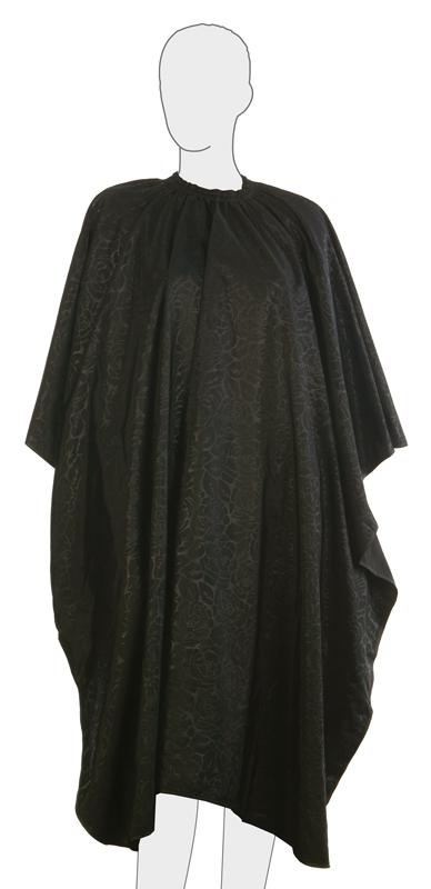 Купить Пеньюар для стрижки Черная Роза DEWAL, AF12B, Черный