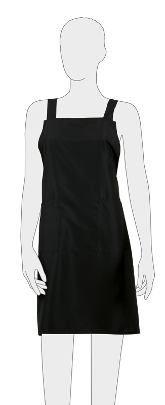 Купить Фартук мастера мужской для стрижки DEWAL, BP29015, Черный