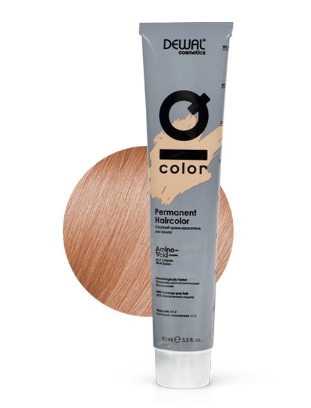 10.04 Краситель перманентный IQ COLOR DEWAL Cosmetics, DC10.04, Германия, 10.04 Extra light natural copper blonde  - Купить