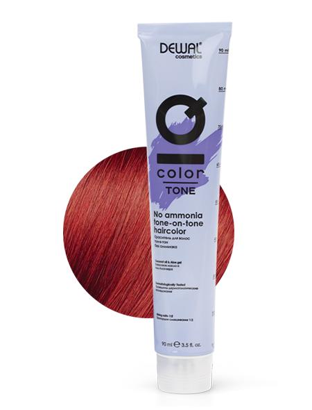 Купить 6.44 Краситель тон-в-тон IQ COLOR TONE DEWAL Cosmetics, DC6.44T, Германия, 6.44 Dark intense copper blonde