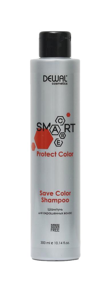 Купить Шампунь для окрашенных волос SMART CARE Protect Color Save Color Shampoo DEWAL Cosmetics, DCC20104, Германия