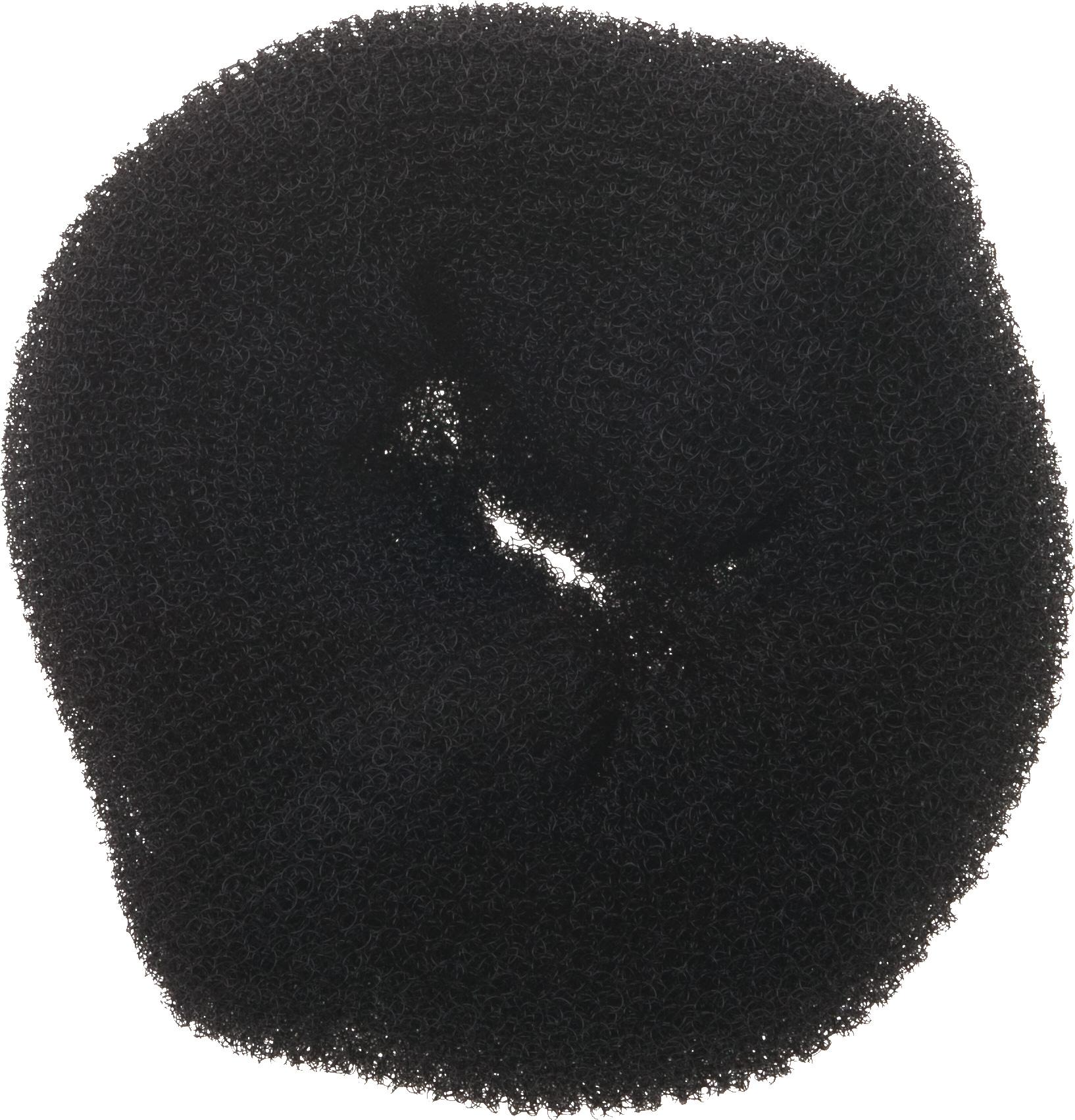 Валик для прически черный DEWAL