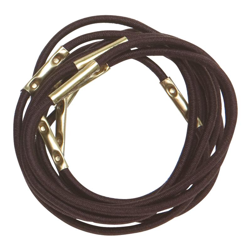 Купить Резинки для волос коричневые DEWAL, RE025, Коричневый