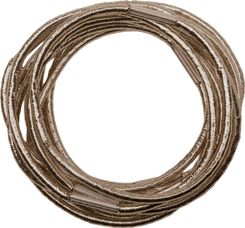 Купить Резинки для волос коричневые DEWAL, RE043, Коричневый