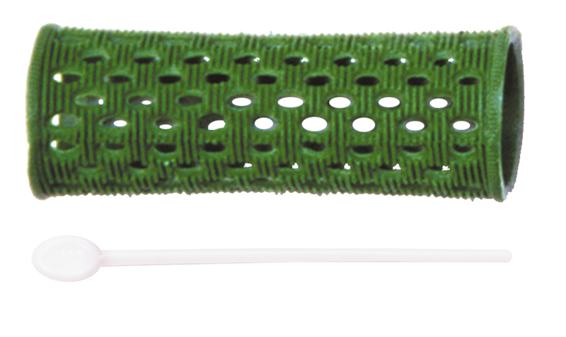 Купить Бигуди пластиковые DEWAL, RMHR3, Зеленый