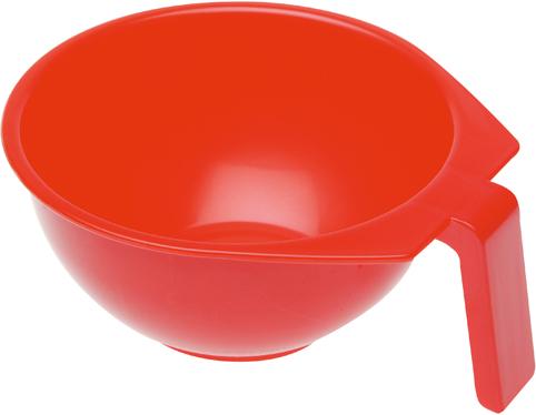 Купить Чаша для окрашивания с ручкой DEWAL, T-1212К, Красный