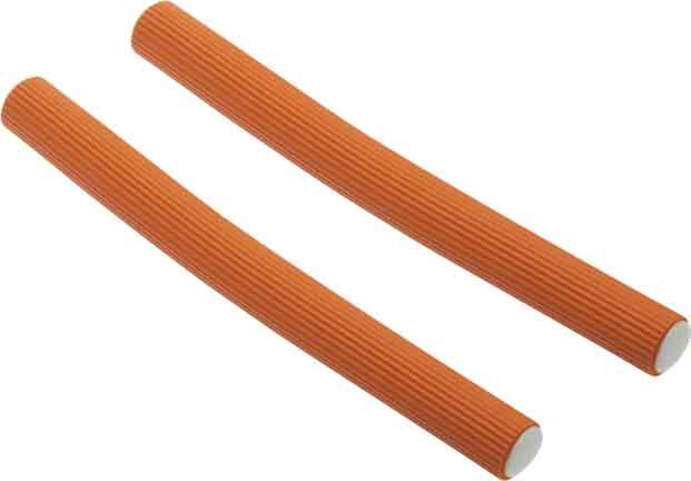 Купить Бигуди-бумеранги оранжевые DEWAL BEAUTY, DBB17, Оранжевый