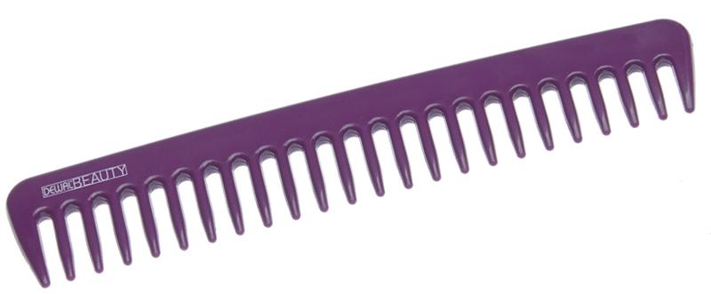 Купить Гребень фиолетовый DEWAL BEAUTY, DBFI6021, Фиолетовый