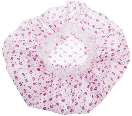 Купить Шапочка для душа с кружевом DEWAL BEAUTY, DBH1, Розовый