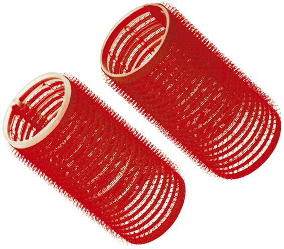 Купить Бигуди-липучки красные DEWAL BEAUTY, DBL36, Красный