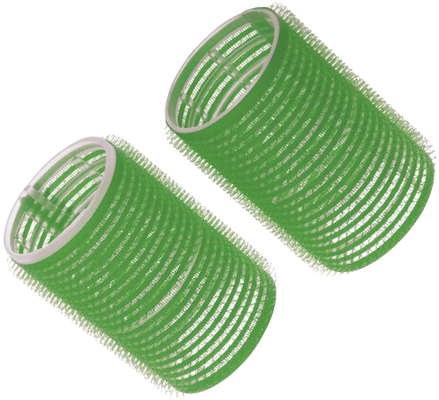 Купить Бигуди-липучки зеленые DEWAL BEAUTY, DBL48, Зеленый