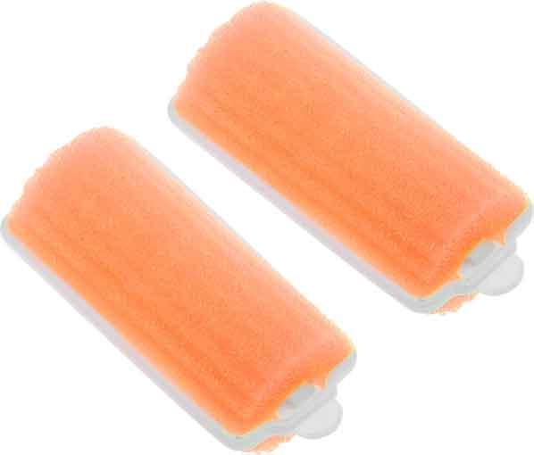 Купить Бигуди поролоновые оранжевые DEWAL BEAUTY, DBP25, Оранжевый