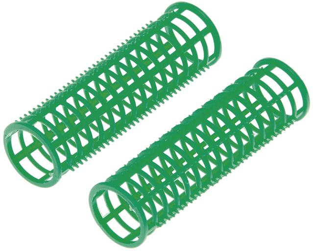 Купить Бигуди пластиковые зеленые DEWAL BEAUTY, DBPP23, Зеленый
