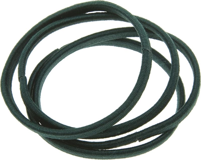 Купить Резинки для волос графит плоские DEWAL BEAUTY, DBR10, Серый