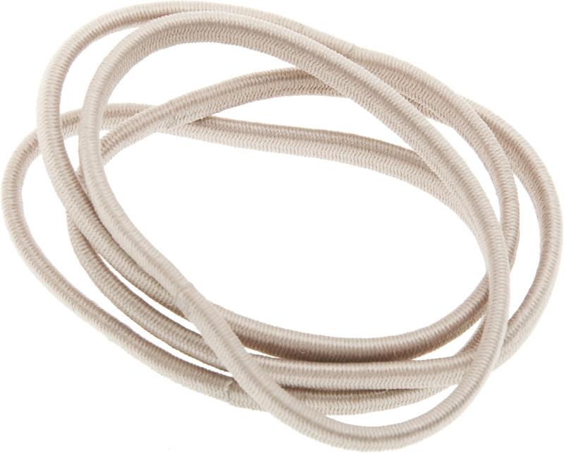 Купить Резинки для волос бежевые плоские DEWAL BEAUTY, DBR11, Бежевый