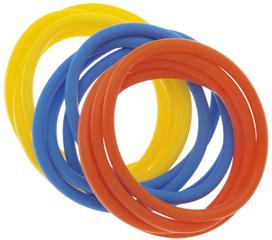 Купить Резинки для волос силиконовые DEWAL BEAUTY, DBR26, Разноцветный