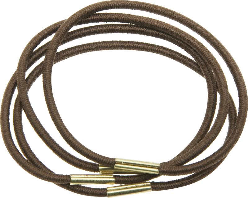 Купить Резинки для волос коричневые DEWAL BEAUTY, DBR3, Коричневый