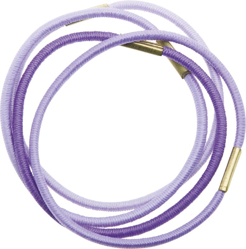 Купить Резинки для волос радуга синяя DEWAL BEAUTY, DBR6, Разноцветный