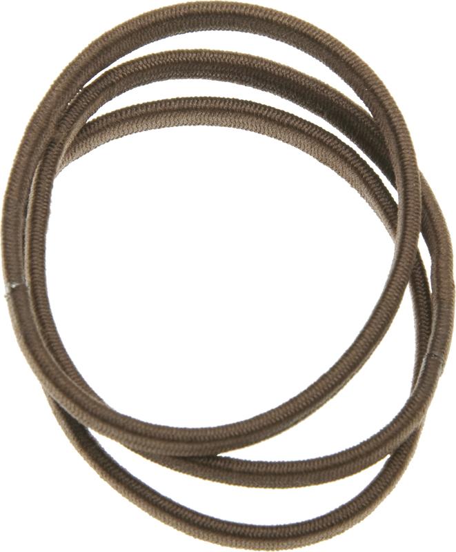 Купить Резинки для волос коричневые плоские DEWAL BEAUTY, DBR9, Коричневый