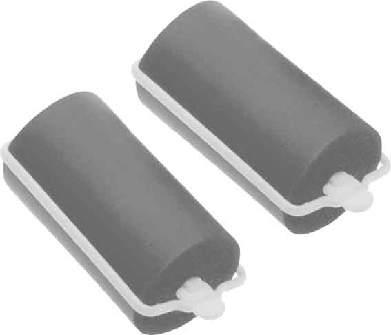 Купить Бигуди резиновые серые DEWAL BEAUTY, DBRZ28, Серый