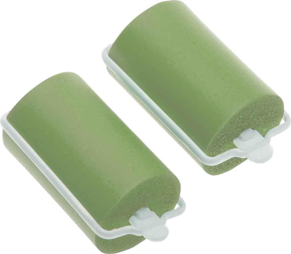 Купить Бигуди резиновые зеленые DEWAL BEAUTY, DBRZ38, Зеленый