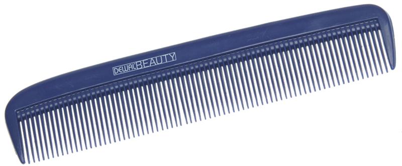 Купить Расческа карманная синяя DEWAL BEAUTY, DBS6031, Синий
