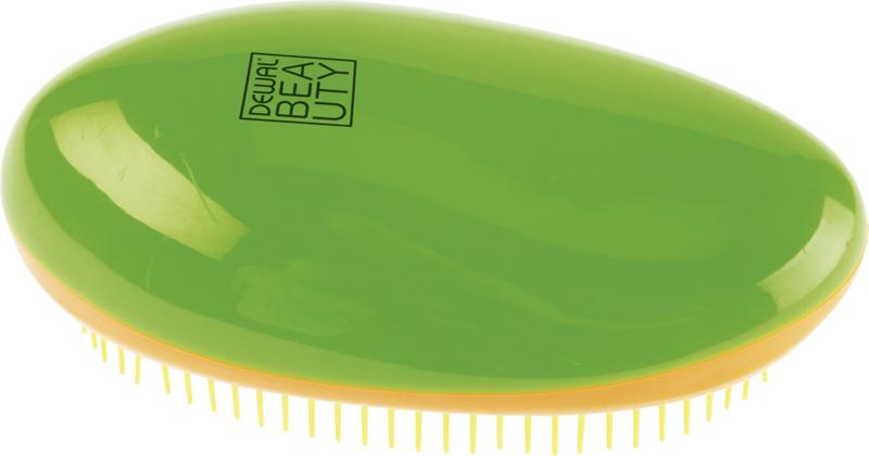 Купить Щетка массажная овальная DEWAL BEAUTY, DBT-01, Зеленый