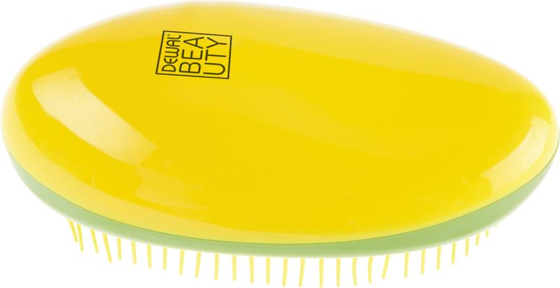 Купить Щетка массажная овальная DEWAL BEAUTY, DBT-03, Желтый