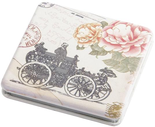 Купить Зеркало карманное квадратное Классическая мода DEWAL BEAUTY, MR9, Разноцветный