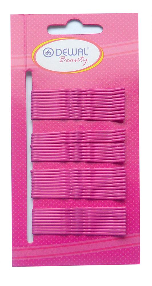 Купить Невидимки розовые DEWAL BEAUTY, N-40PINK, Розовый