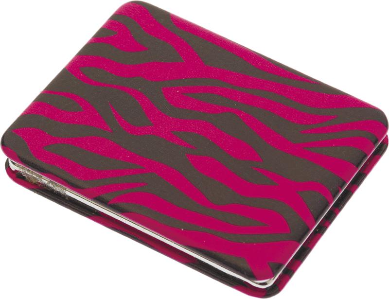 Купить Зеркало серия Дикая природа карманное прямоугольное DEWAL BEAUTY, PMP-5573A, Разноцветный