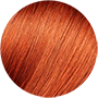 Very light intense copper blonde